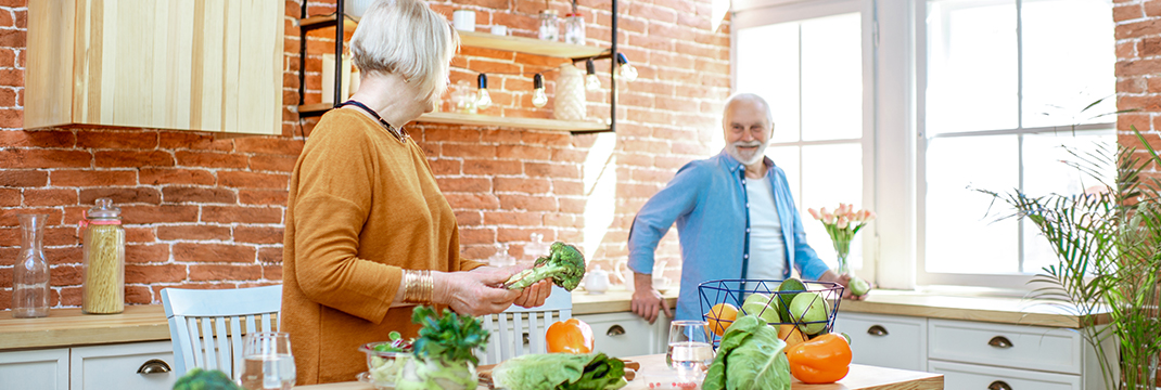 Health promotion and nutrition among older adults