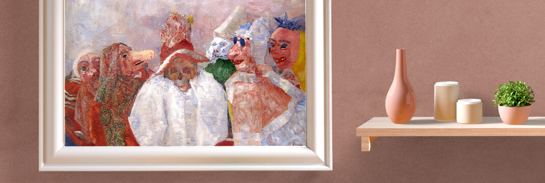 James Ensor Masks Confronting Death
